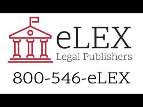 eLEX Legal Publishers LLC - 501 E Tennessee St, Ste B