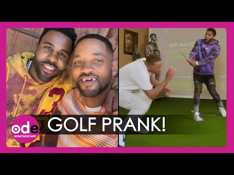 Watch Will Smith and Jason Derulo in Hilarious Golf Prank Video!