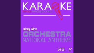 National Anthem of Chile (In the Style of Orchestra) (Karaoke Instrumental Version)