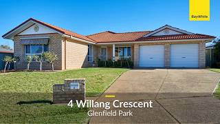 4 Willang Cres, Glenfield Park