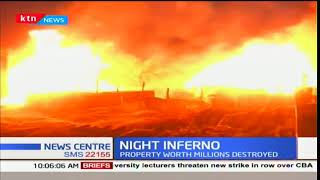 Property worth millions destroyed in night inferno in Maralal