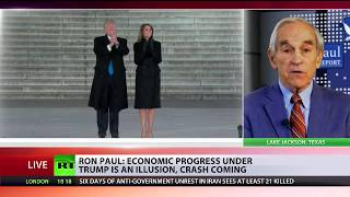 Ron Paul: Economic progress under Trump is illusion, crash coming