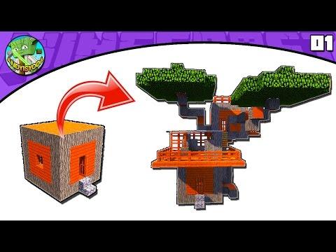 Minecraft Tutorial: Transform an Acacia Village Blacksmith