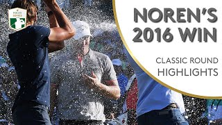 Alex Noren's 6 Shot 2016 Nedbank Win | Classic Round Highlights