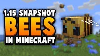Bees, Honey & Hives: New Minecraft 1.15 Snapshot