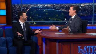 Jimmy Kimmel Would Cry If Stephen Died