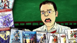 Kingdom Hearts Timeline - Chronologically Confused - Angry Video Game Nerd (Episode 165)