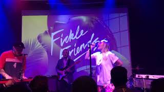 """Fickle Friends """"Glue"""" Live In San Francisco 5418"""