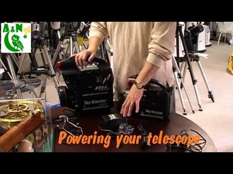 Powering your telescope