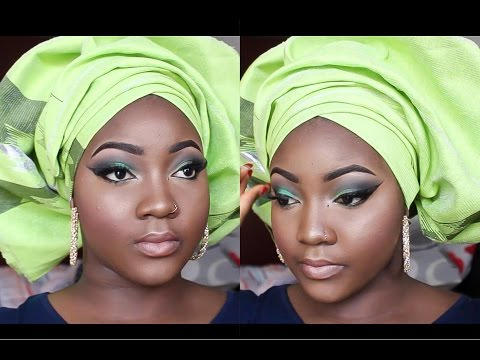 GRWM:MAKEUP+ GELE | NIGERIAN WEDDING GUEST