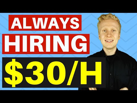 , title : '9 Companies That Are ALWAYS Hiring For Work From Home Jobs ($30/HOUR!)