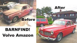 I BOUGHT A BARNFIND!!! (Volvo Amazon, engine start, overhauling)