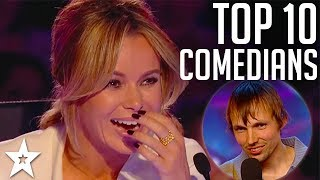 TOP 10 Funniest Comedians EVER on Britain's Got Talent | Got Talent