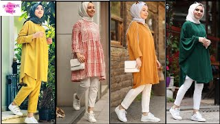 MODEST SUMMER OUTFIT IDEAS WITH HIJAB COLLECTION | SUMMER HIJAB OUTFITS 2020
