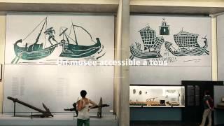 preview picture of video 'Visite du Musée départemental de l'Arles et de la Provence antique'