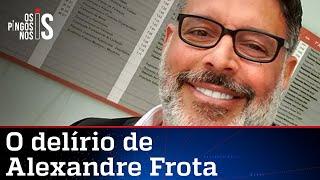Frota quer criar CPI da Facada e acusa Bolsonaro de armação