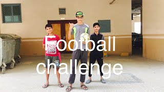 Kids Football Shooting Challenge