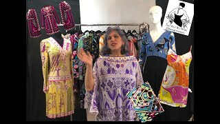 Emilio Pucci: Master Print Fashion Designer  (Vintage, Designer, Luxury, Sustainable, Fashion, Haul)