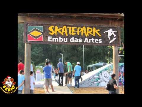 Embu das Artes ganha nova pista de skate no Parque Rizzo