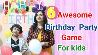 6 Awesome Birthday Game For Kids/Family,Party Game For Kids/Keep Kids Busy At Home/6 Awesome Game