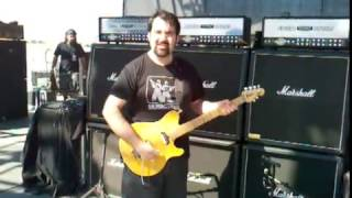 Richie Castellano - Shredding at Blue Oyster Cult soundcheck