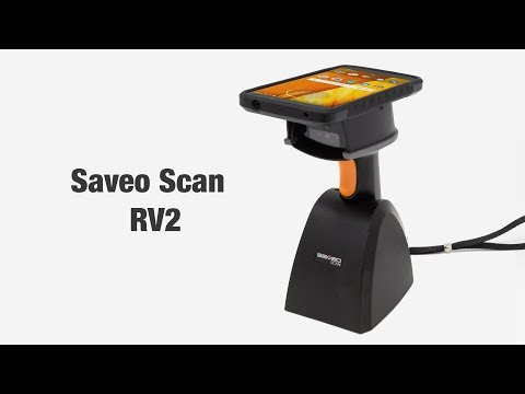 SAVEO SCAN RV2 Universal SmartPhone and Tablet Barcode Scanner video thumbnail