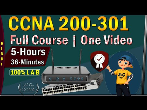 CCNA Full Course in Hindi |CCNA 200-301 Full course| CCNA Routing & Switching [O N E - V I D E O]