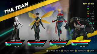 Marvel Ultimate Alliance 3: The Black Order - How to get STRONGER CHARACTERS (ISO-8 SECOND SLOT)
