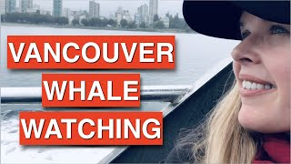 Vancouver Whale Watching - Humpbacks & Sea Lions!