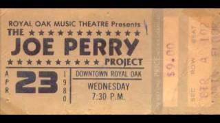 The Joe Perry Project Talk, Talk Live 1980