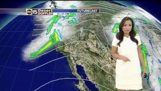 FORECAST: Temperatures are warming back up as we head into the weekend