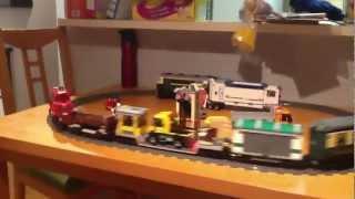 Lego train going backwards