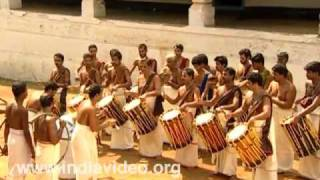 The captivating rhythm of Pandimelam