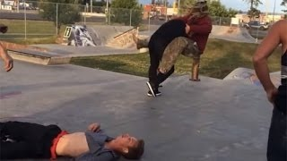 SKATERS VS ANGRY PEOPLE EXTREME - RAGE COMPILATION