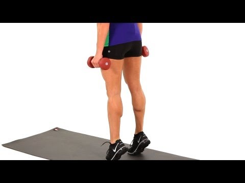How to Do a Calf Raise | Sexy Legs Workout