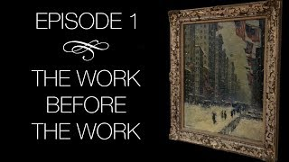 """The Conservation of Guy Wiggins -  Episode 1: """"The Work Before The Work"""""""