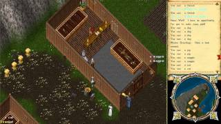preview picture of video 'Passeando por Cove OSI Ultima Online UO'