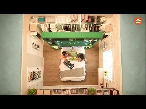 Espacios pequeños - Dormitorio de 13 m2