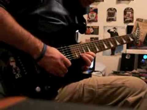 """Allan Fidler Solos """"The River Dragon"""" by Nevermore"""