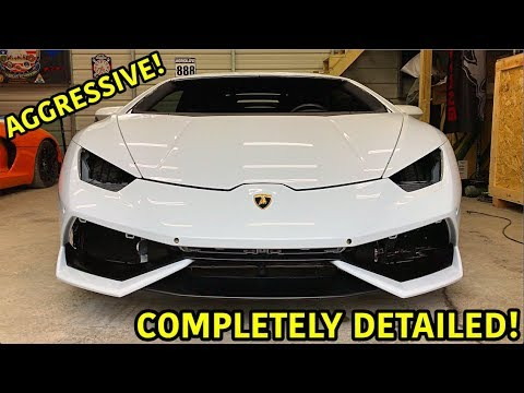 Download Rebuilding A Wrecked Lamborghini Huracan Part 22 HD Mp4 3GP Video and MP3