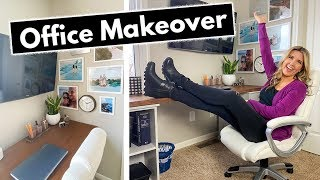 Office Makeover On A Budget! Easy IKEA And Dollar Tree Hacks