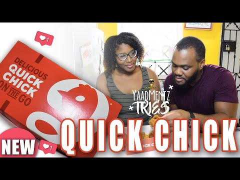 YaadMentz Tries NEW Fast Food Fried Chicken Joint Quick Chick| YaadMentz Tries Episode 30
