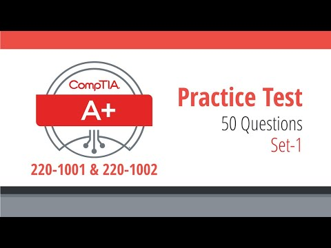 CompTIA A+ Practice Questions and Answers | 220-1001 & 220 ...
