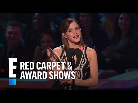 The People's Choice for Favorite Dramatic Movie Actress is Emma Watson | E! People's Choice Awards