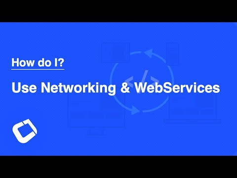 Use HTTP, Sockets, Webservices and Websockets