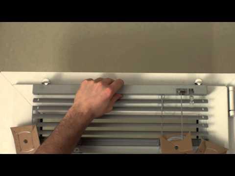 Jalousie Messung & Montage ohne Bohrung (Klemmfix) - rollo-pro.de - Rollos Plissees & Jalousien