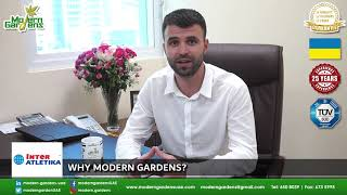 Modern Gardens partnership with InterAtletika