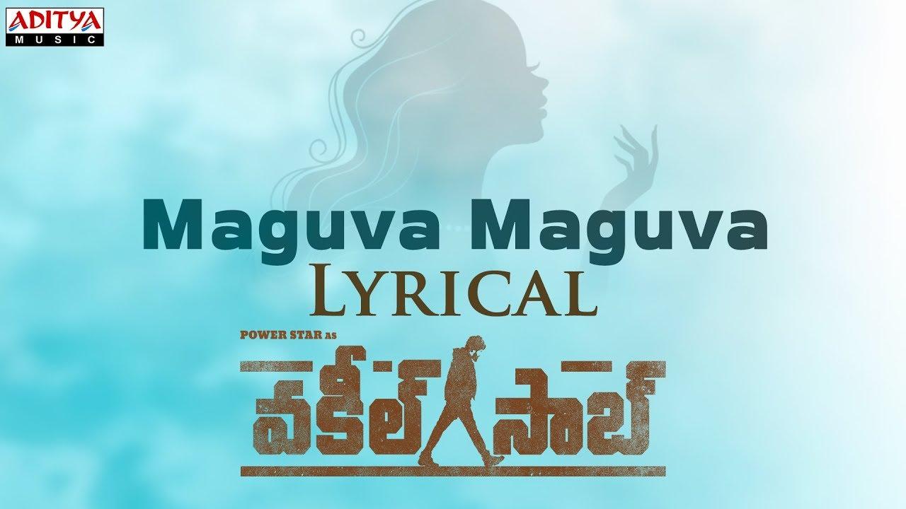 Maguva Maguva Lyrical Song From Vakeel Saab
