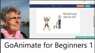 Animation for beginners-GoAnimate Tutorial 1