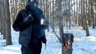 Смотреть онлайн Как в лесу приготовить настоящий хвойный чай